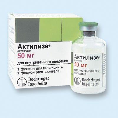 Препараты тромболитики ― список самых эффективных