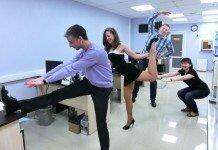 Гимнастика в офисе как профилактика варикоза