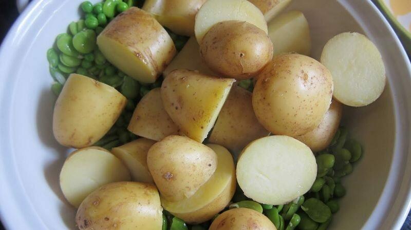 Картофель в мундире поможет при судорогах